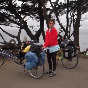 Cathy Skott Biked 2300 Miles